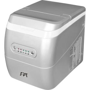 Delightful Portable Ice Maker In Silver