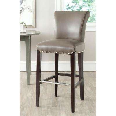Seth 29.3 in. Clay Cushioned Bar Stool