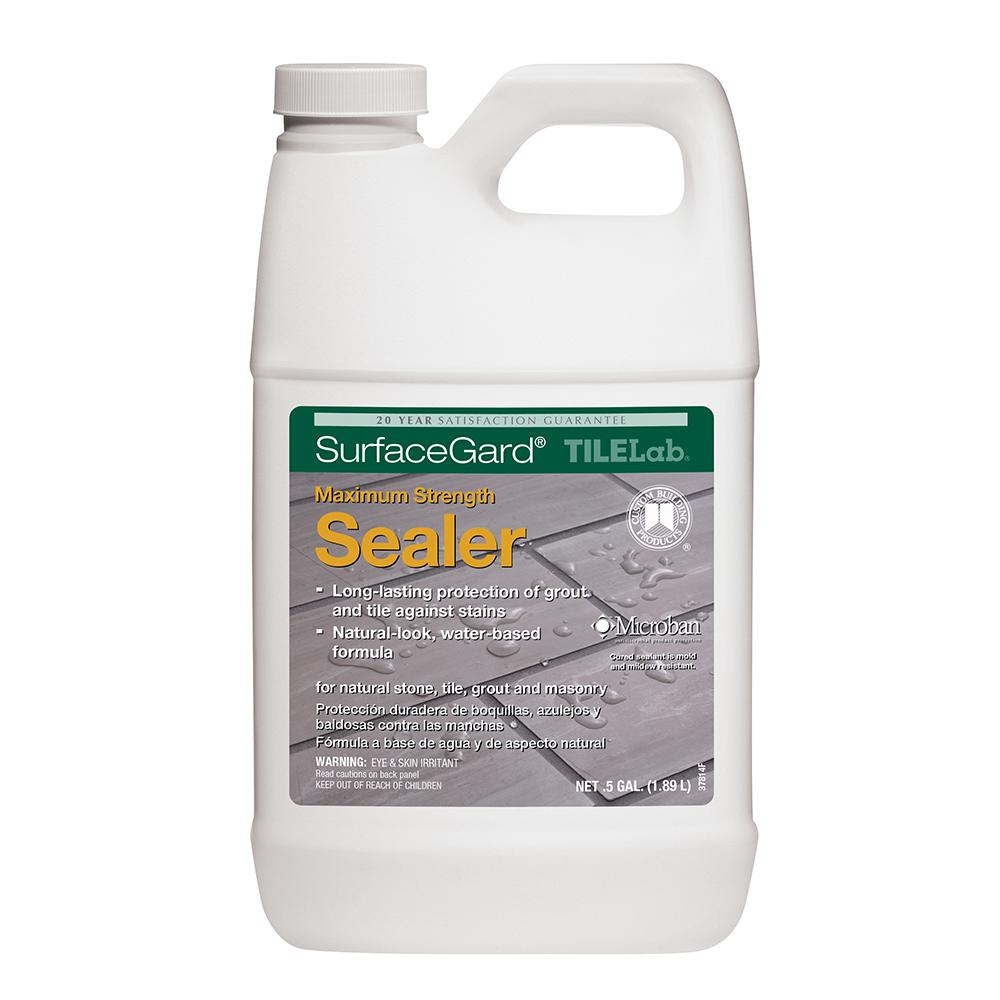 Custom Building Products Tilelab Surfacegard 1 2 Gal Penetrating Sealer