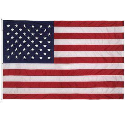12 ft. x 18 ft. Nylon U.S. Flag