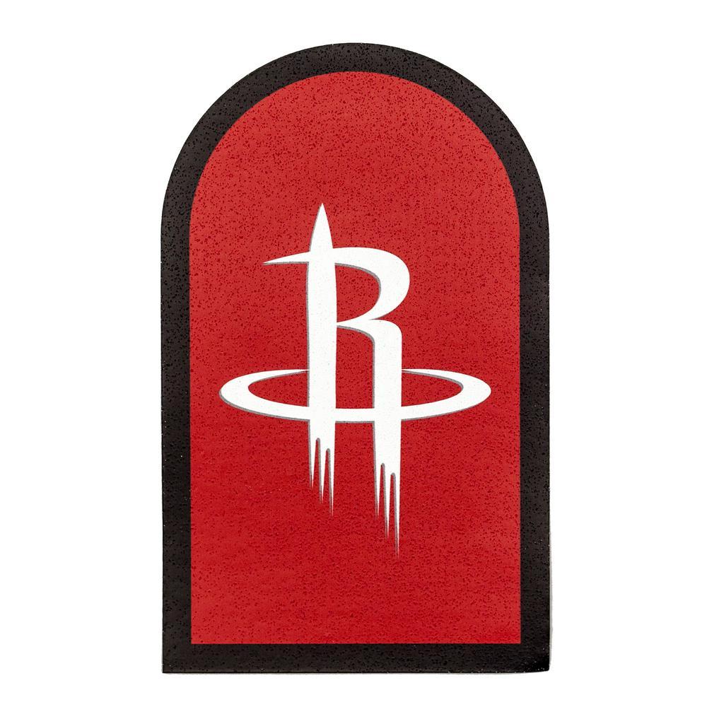 NBA Houston Rockets Mailbox Door Logo Graphic