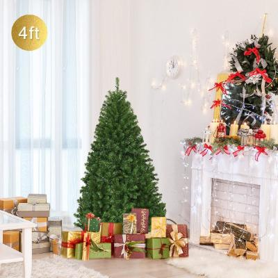 4 ft. Pre-Lit Artificial Christmas Tree with 100 LED Lights