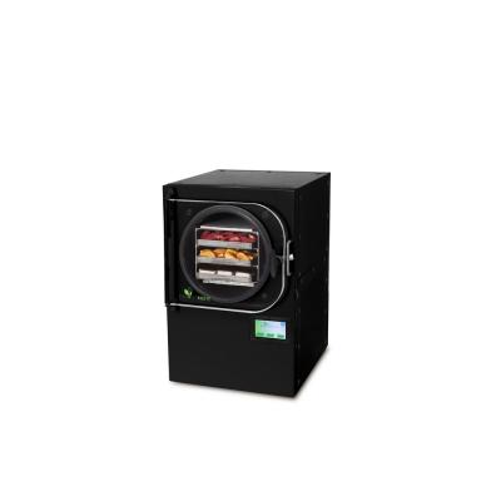 3-Tray Small Black Aluminum Freeze Dryer with Mylar Starter Kit