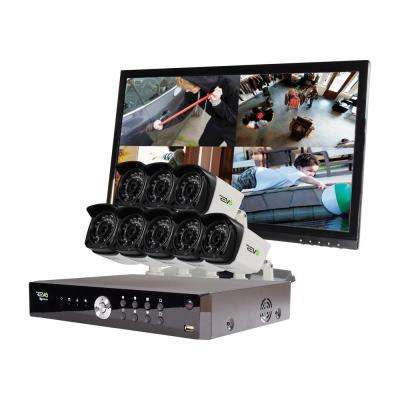 Aero 16-Channel HD 2TB Surveillance DVR with 8 1080p Indoor/Outdoor Cameras with Night Vision