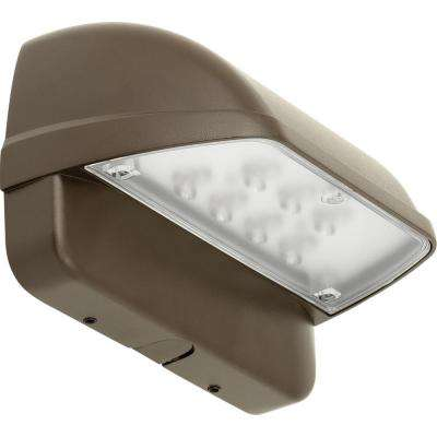PCOWC Collection Gray Outdoor Integrated LED Wall Pack Light