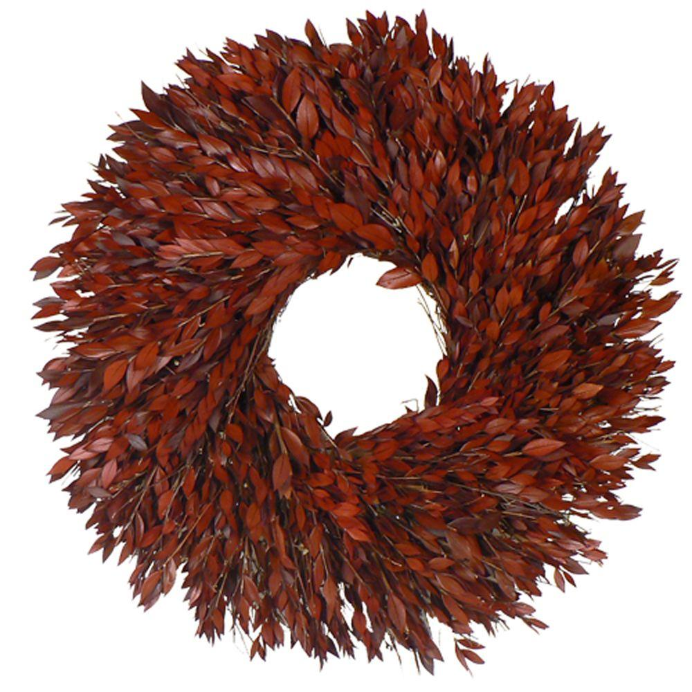 The Christmas Tree Company Taste of Myrtle 22 in. Dried Floral Wreath-DISCONTINUED