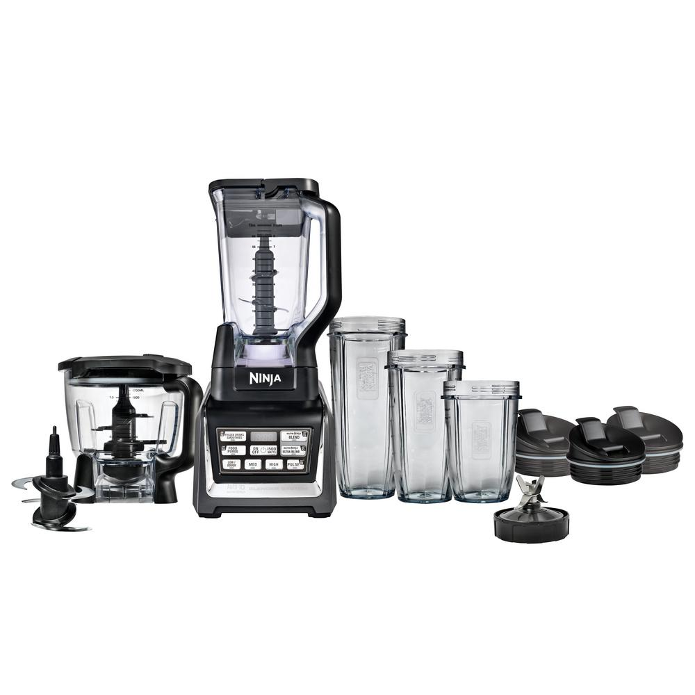 Nutri Ninja Blender System with Auto-iQ, Silver