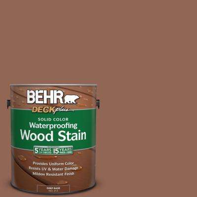 1 gal. #S190-6 Rio Rust Solid Color Waterproofing Wood Stain
