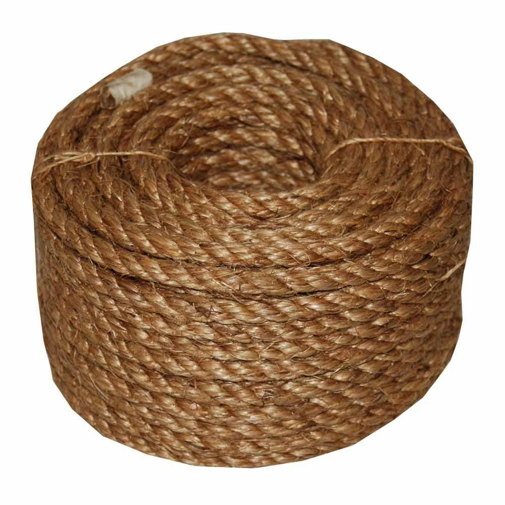 1/4 in. x 50 ft. Twisted Manila Rope