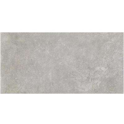 Malaga Light Gray 12 in. x 24 in. x 9.5mm Matte Porcelain Floor and Wall Tile (8 pieces / 15.49 sq. ft. / box)