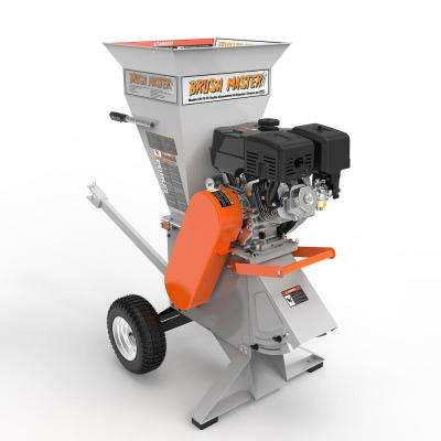 4 in. 15 HP 420 cc Commercial Duty Chipper Shredder
