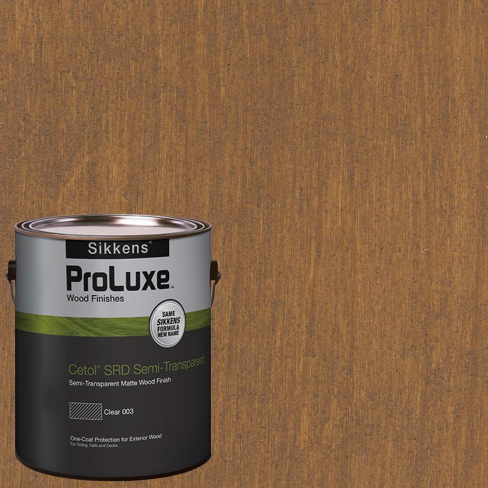 Sikkens Proluxe 1 Gal Hdgsrd St 213 Butternut Cetol Srd Semi Transparent Exterior Wood Finish