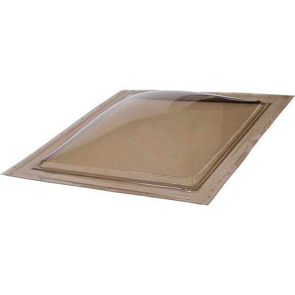 19-1/2 in. x 19-1/2 in. Polycarbonate Fixed Self Flashing Skylight