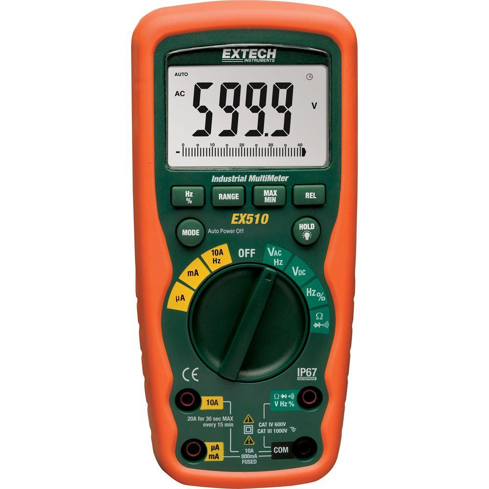 Extech Instruments 9 Function Heavy Duty Industrial Multimeter