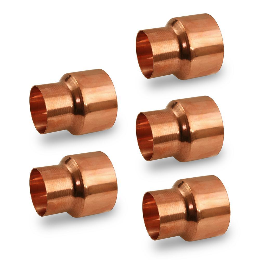 10-Pack Copper Fitting Cap 2-1//8