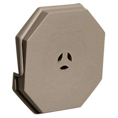 6.625 in. x 6.625 in. #095 Clay Surface Mounting Block