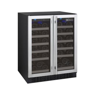 FlexCount II Dual Zone 36-Bottle Built-in Wine Refrigerator