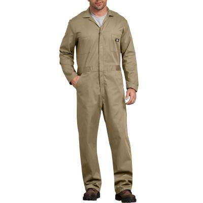 Men's Khaki Basic Cotton Coverall