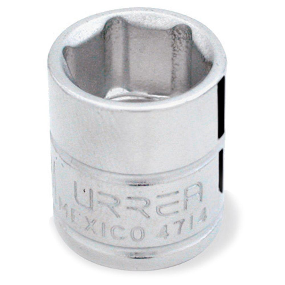 URREA 1/4 INCH DRIVE 6-POINT 11/32 INCH CHROME SOCKET