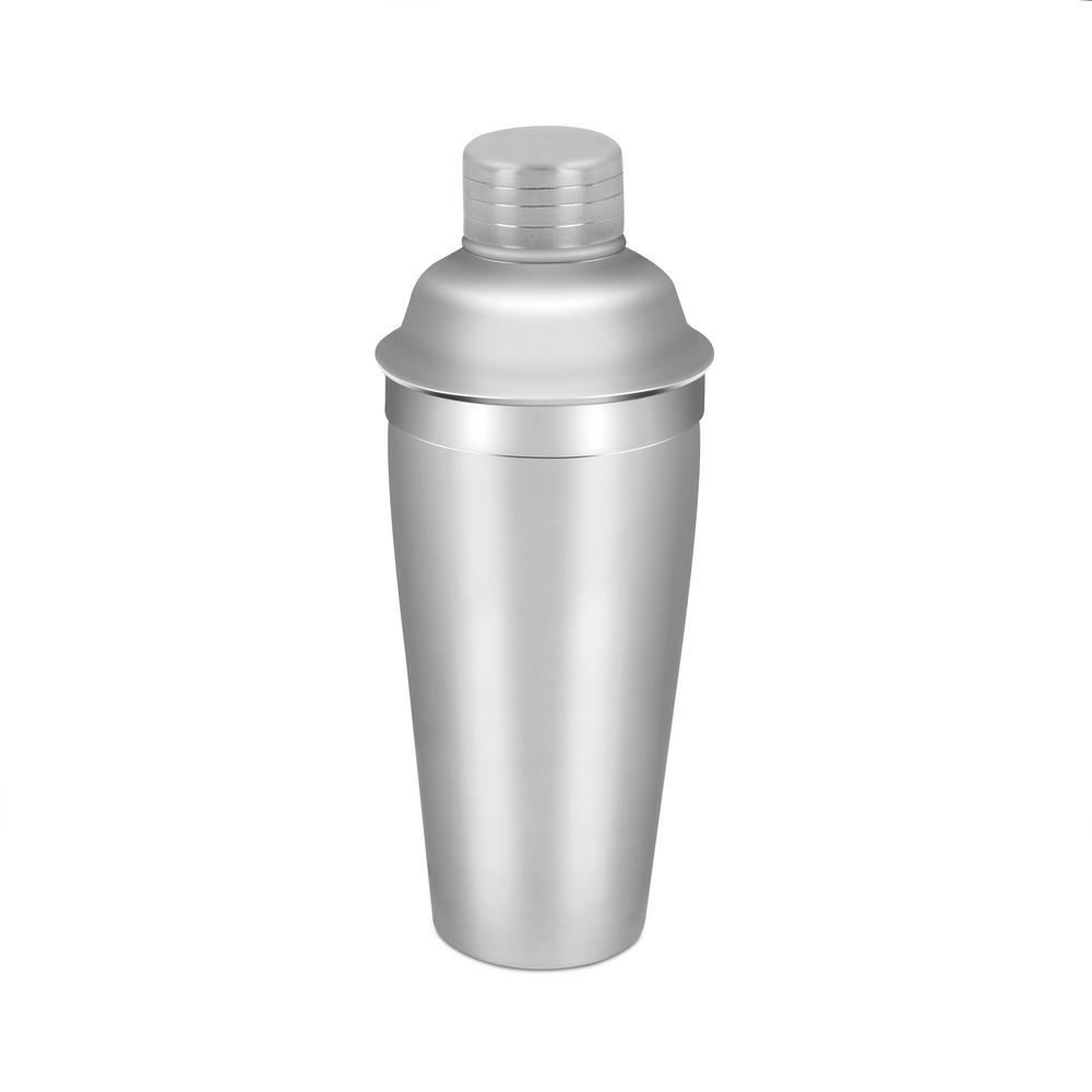 Home Basics 25.36 oz. Stainless Steel Cocktail Shaker