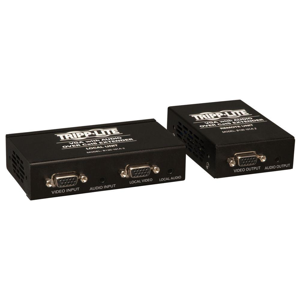 VGA with Audio Over Cat5/6 Extender Kit