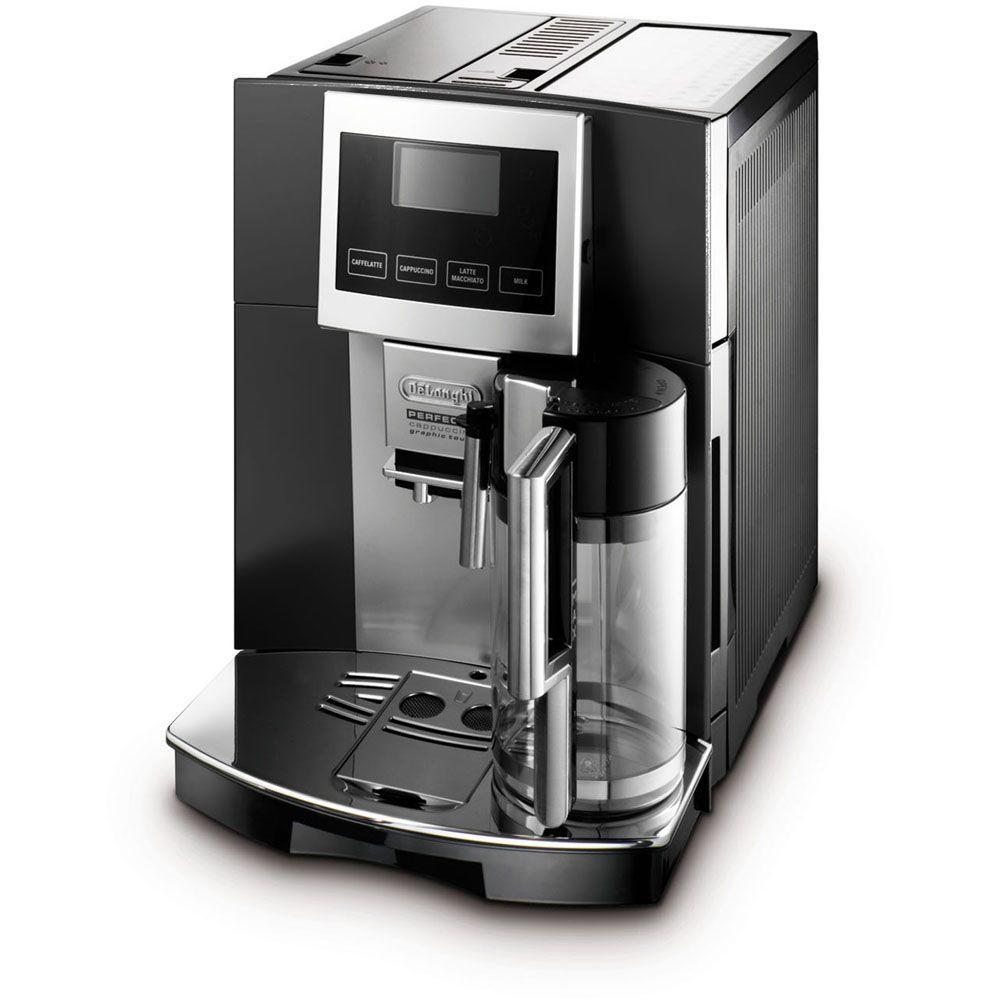 DeLonghi Perfecta Touchscreen Super Automatic Espresso, Cappuccino, Latte, Macchiato and Hot Milk Machine