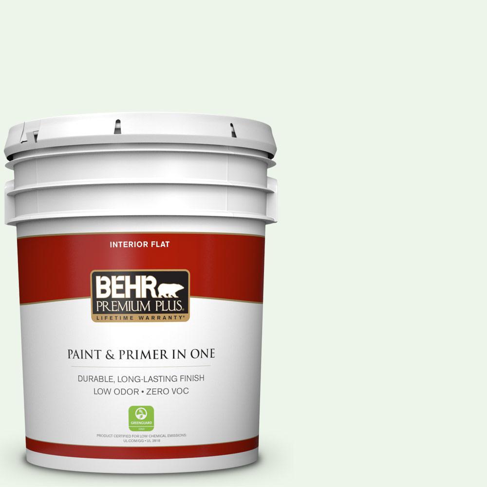 BEHR Premium Plus 5-gal. #440A-1 Parsnip Zero VOC Flat Interior Paint