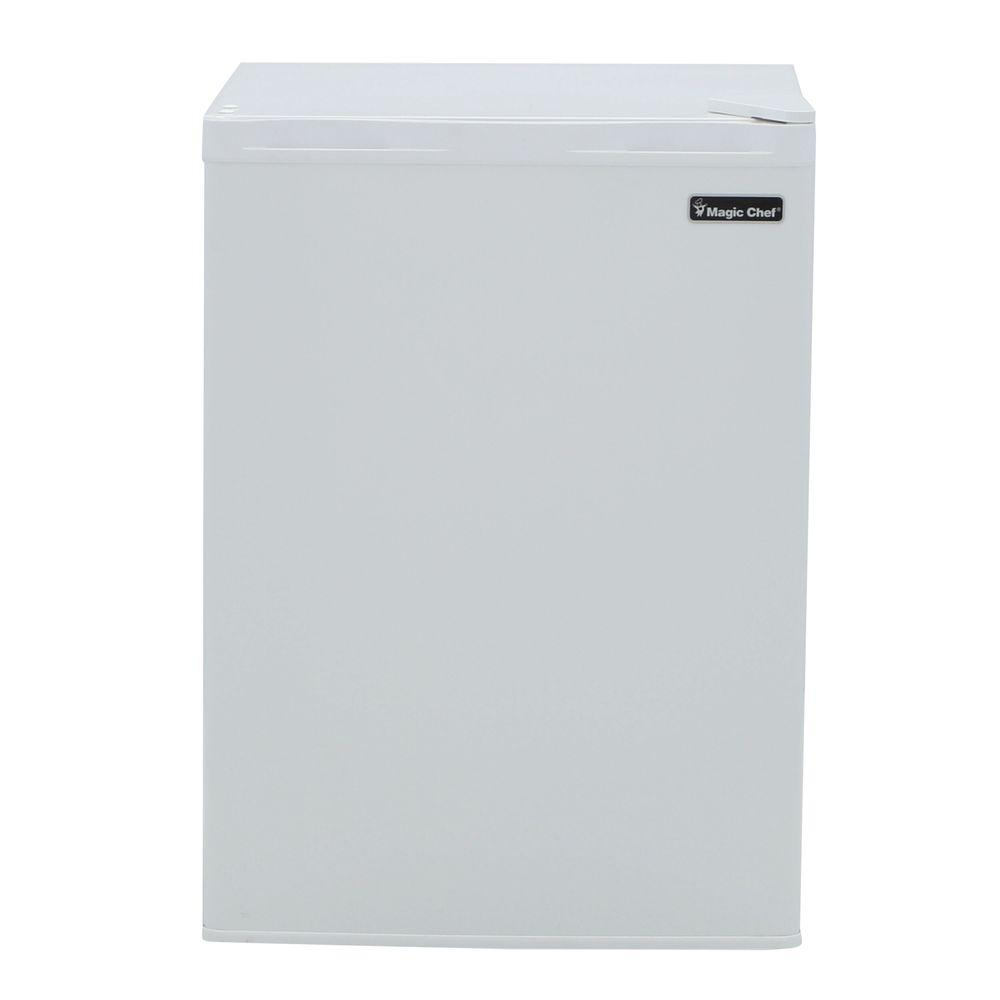 Magic Chef 2.6 cu. ft. Mini Refrigerator in White, ENERGY STAR