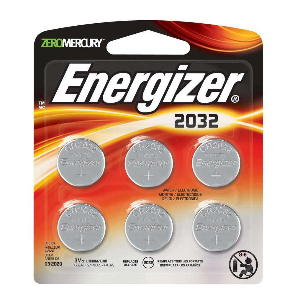 2032-6pk Lithium Battery