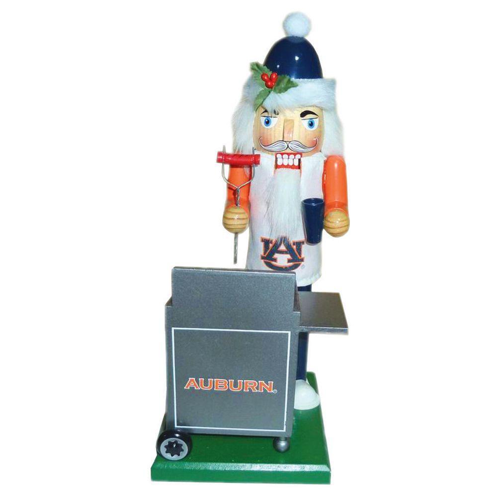 12 in. Auburn Tailgating Nutcracker