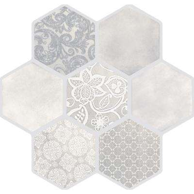Virtue Ivory Matte 17.72 in. x 17.72 in. Porcelain Floor and Wall Tile (13.455 sq. ft. / case)
