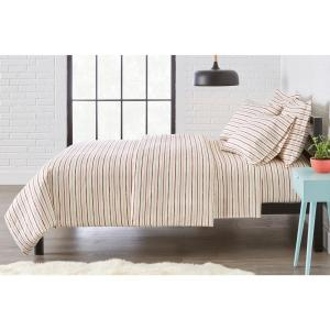 StyleWell Brushed Soft Microfiber 3Pc Full/Queen Duvet Cover Set Deals