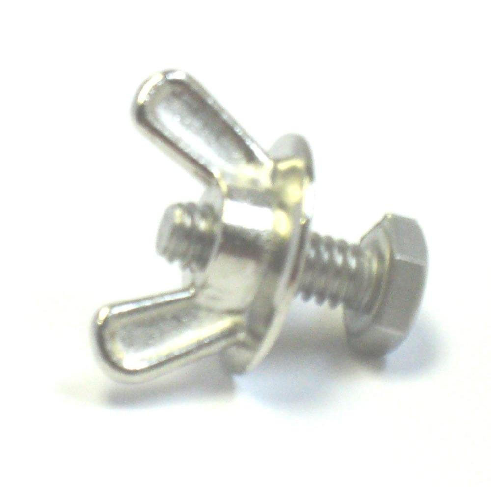 POMA 1/4 in. x 3/4 in. F Track Bolts for Mounting Hurricane Panels
