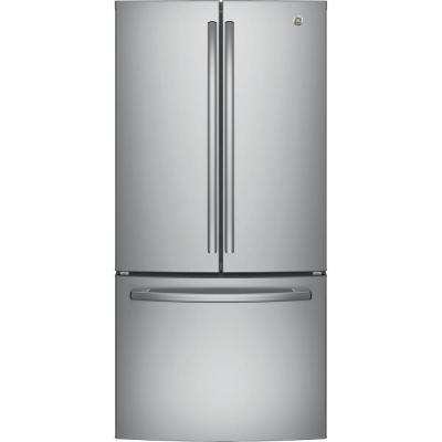 18 6 Cu Ft French Door Refrigerator In Stainless Steel Counter Depth
