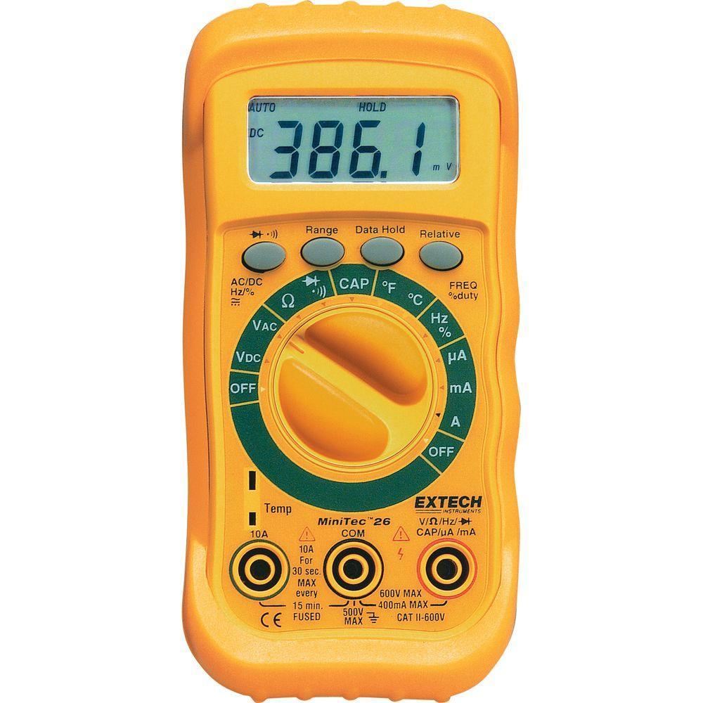 MiniTec Autoranging Digital Multimeter