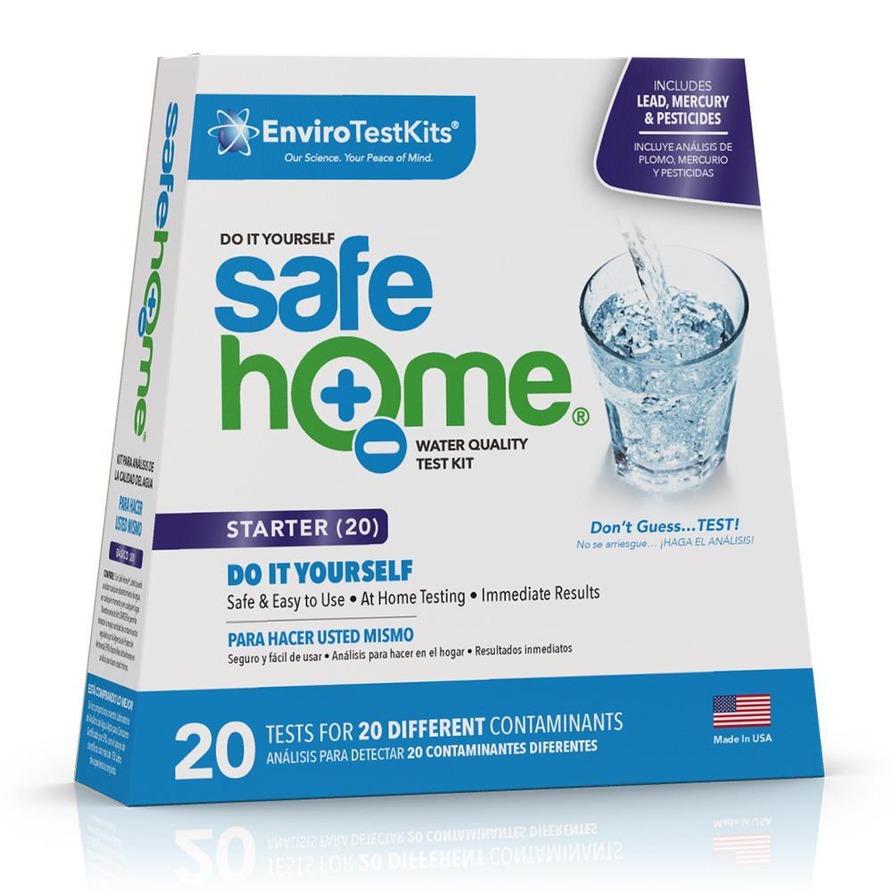 Safe Home Starter 20 Drinking Water Test Kit Sh S20diy1 The Home Depot