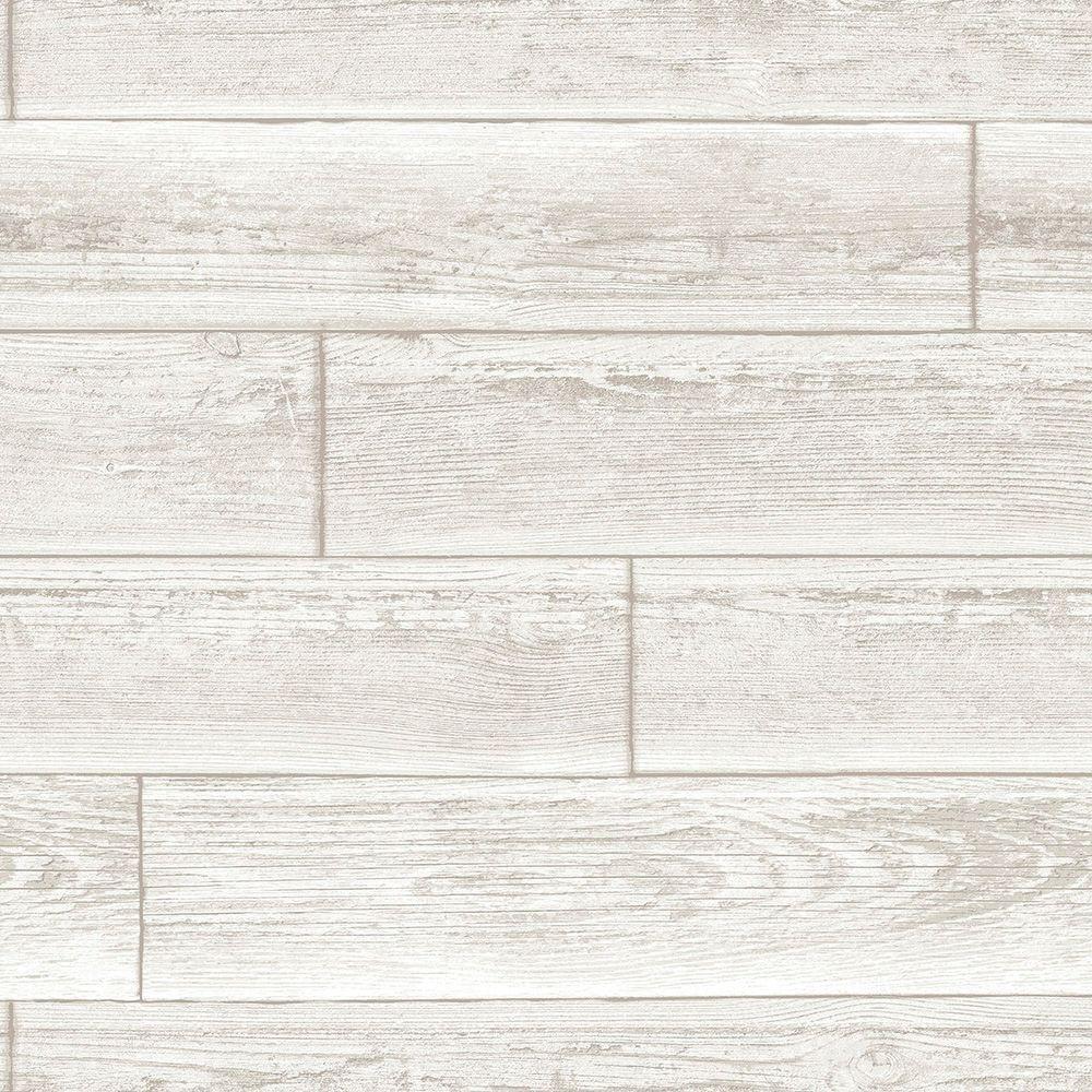 Cream Serene Peel and Stick Wallpaper Sample