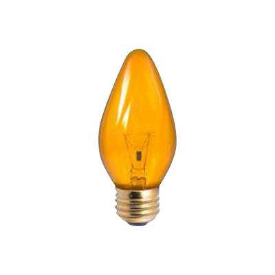 60-Watt F15 Amber Dimmable Incandescent Light Bulb (25-Pack)