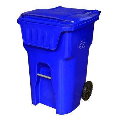 Edge 95 Gal. Wheeled Recycling Container