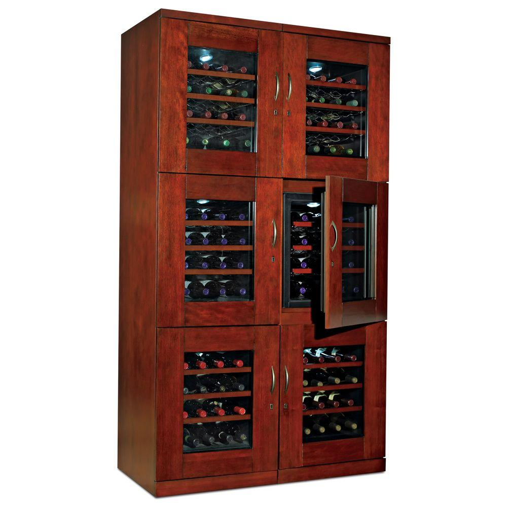Wine Enthusiast Trilogy Dual 96-Bottle Wine Cellar