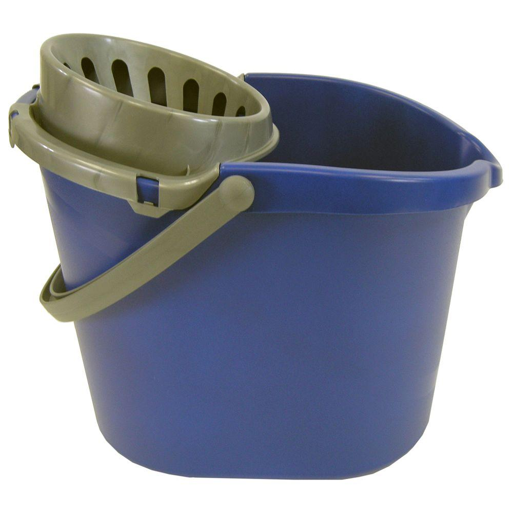 Quickie Original 15 Qt. Oval Bucket with Wringer