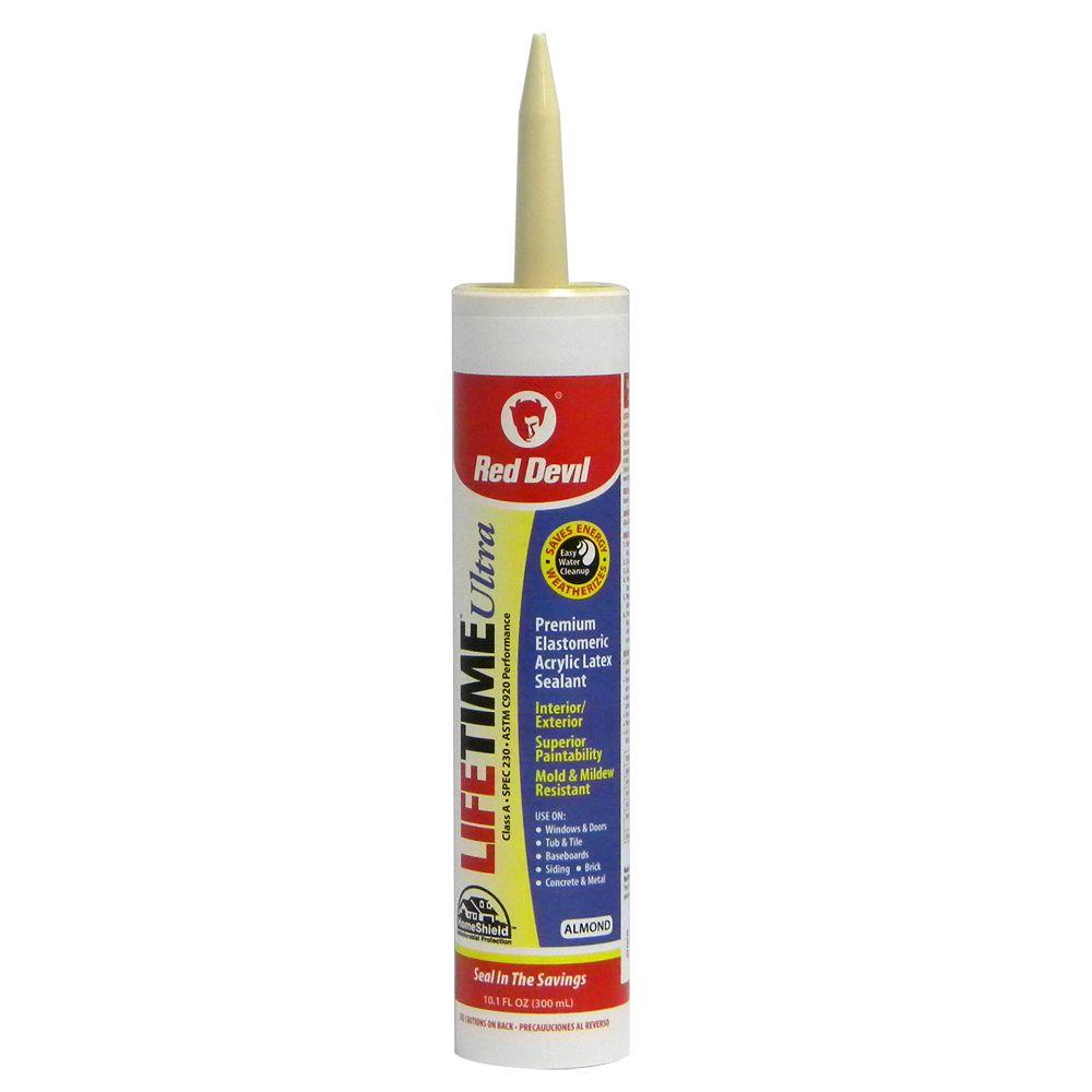 Lifetime Ultra 10.1 oz. Almond Acrylic Latex Caulk