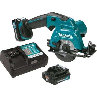 12-Volt MAX CXT Lithium-Ion 3-3/8 in. Cordless Circular Saw Kit with (2) 2.0 Ah Batteries, Charge, 20T Blade