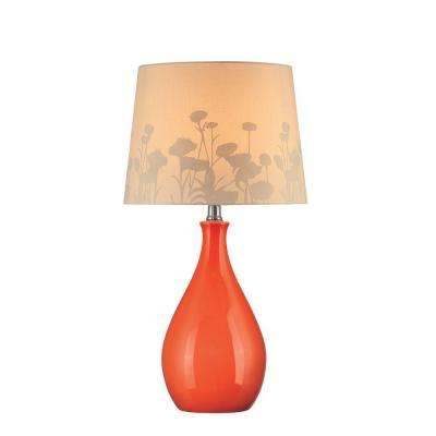 Orange - Table Lamps - Lamps & Shades - The Home Depot