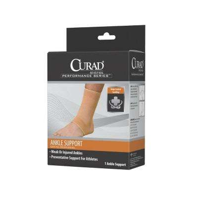 Large Elastic Open Heel Ankle Support