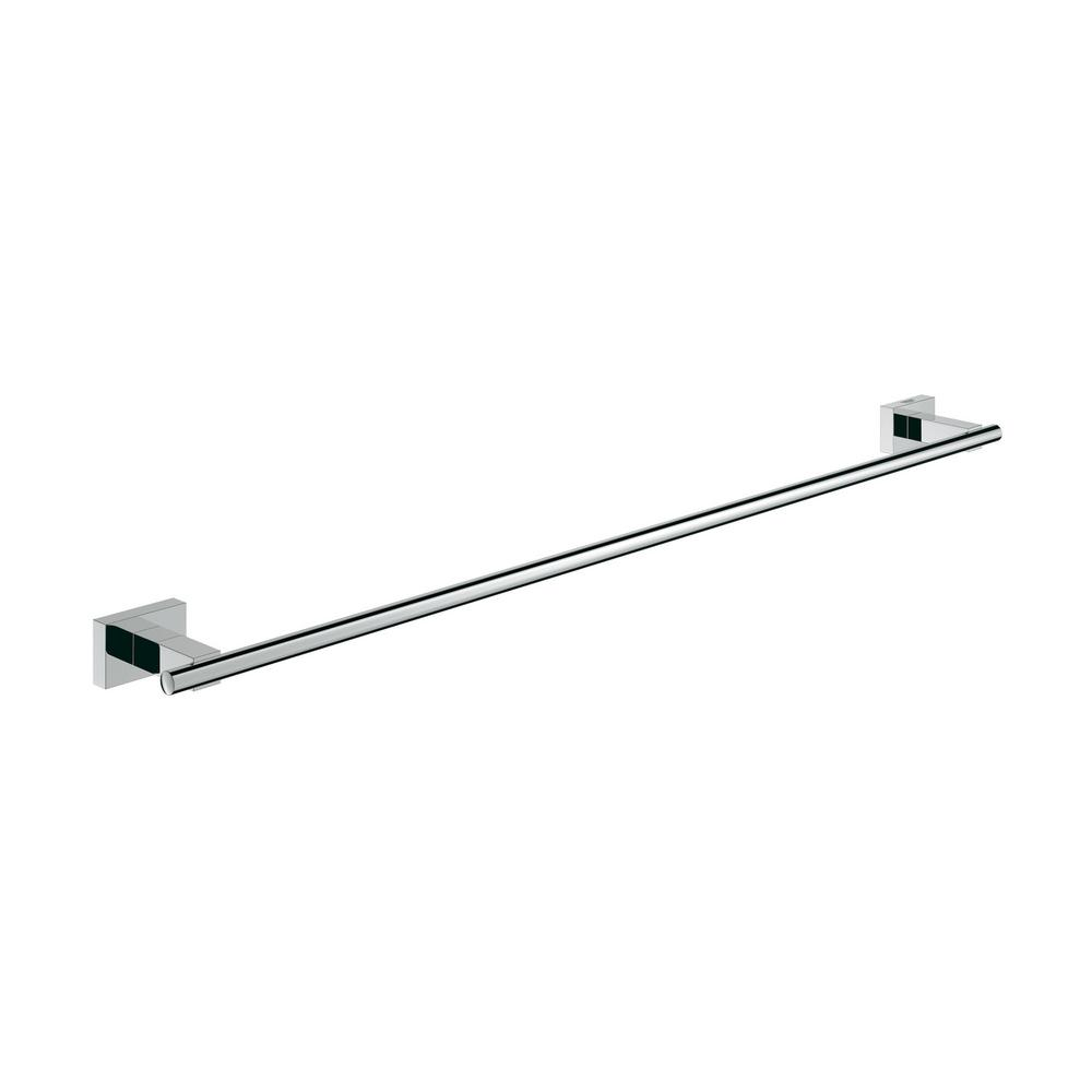 Essentials Cube 24 in. Towel Bar in StarLight Chrome