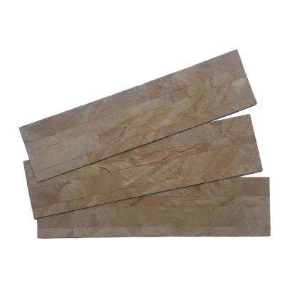 1/8 in. x 24 in. x 6 in. Autumn Mist Real Thin Natural LedgeStone Peel and Stick Panel (5-Pack)