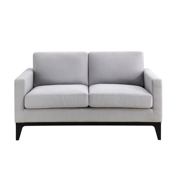 Delray Light Grey Sofa with Hardwood Frame and Quality Fabric