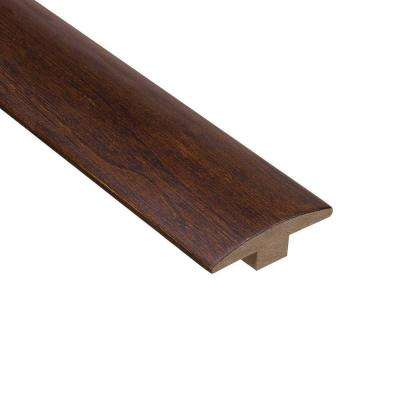 Moroccan Walnut 3/8 in. Thick x 2 in. Wide x 78 in. Length Hardwood T-Molding