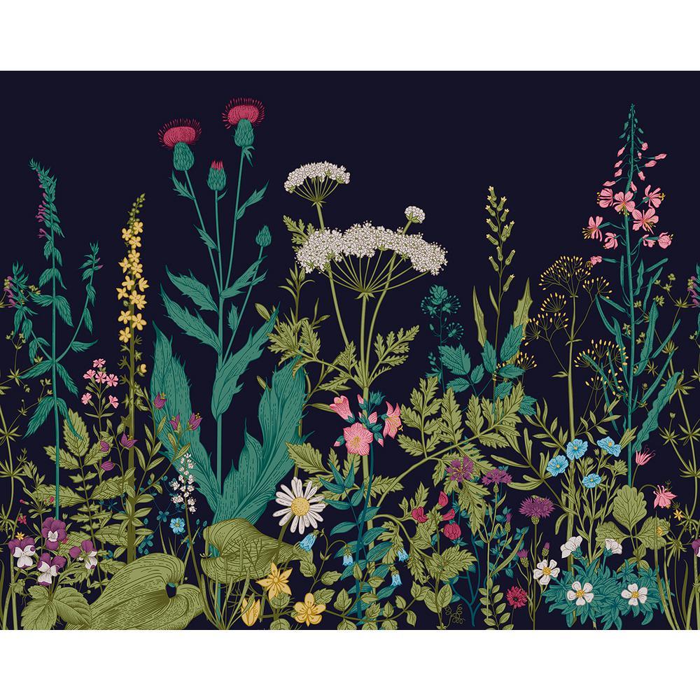 Botanical Fleur Wall Mural